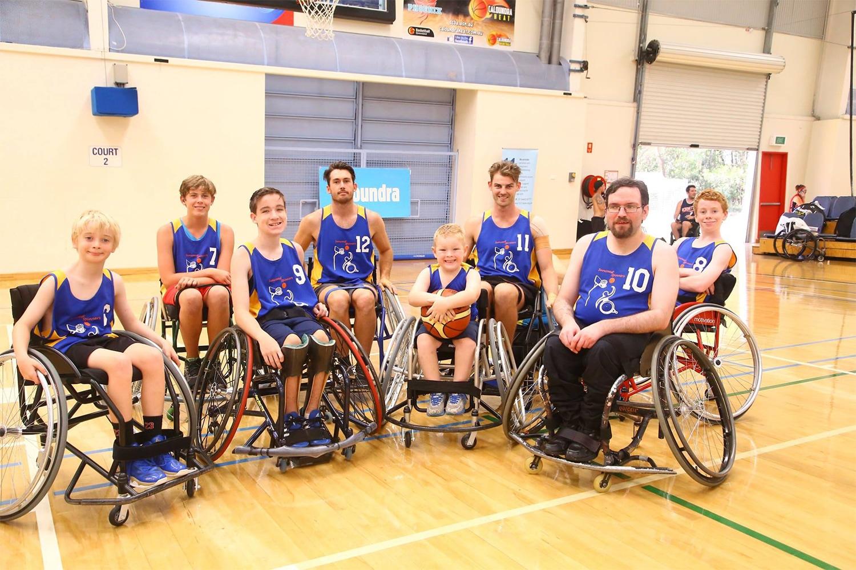 Suncoast Spinners Wheelchair Basketball Team