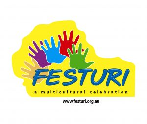 Logo - FESTURI - a Multicultural Celebration Inc